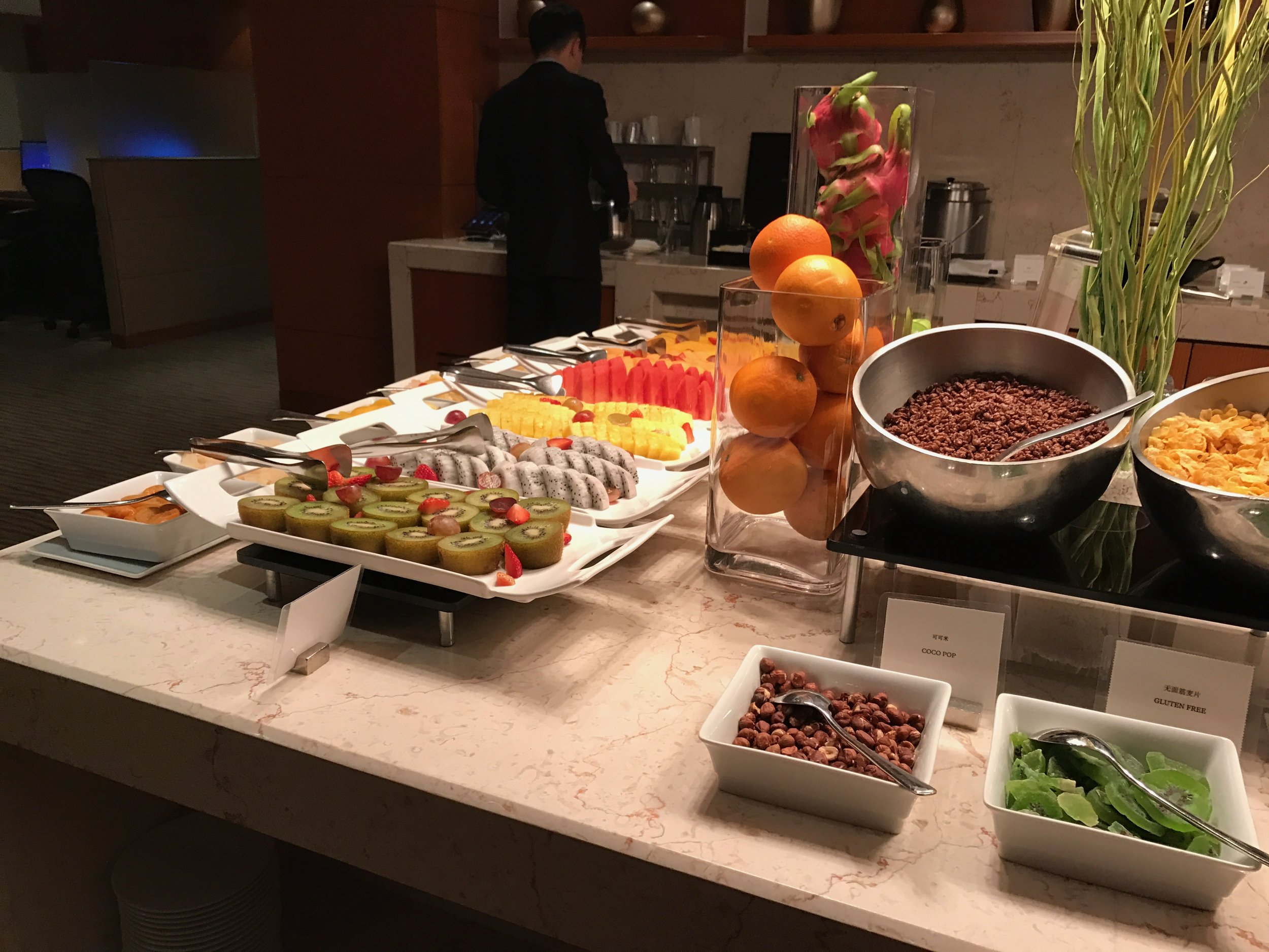 Executive Renewal Suite - Club lounge breakfast service