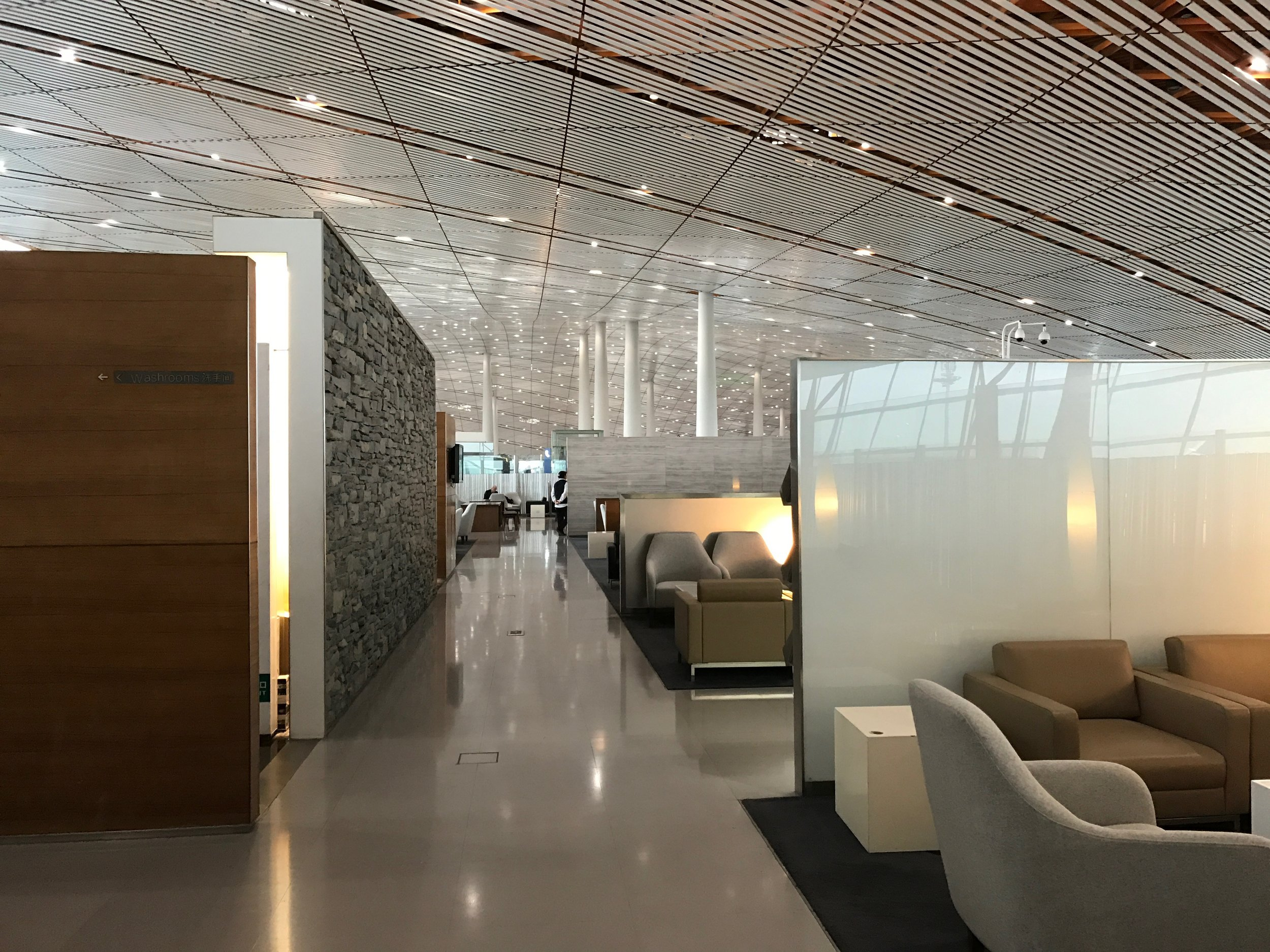 Cathay Pacific Lounge at Beijing Airport (PEK) T3E