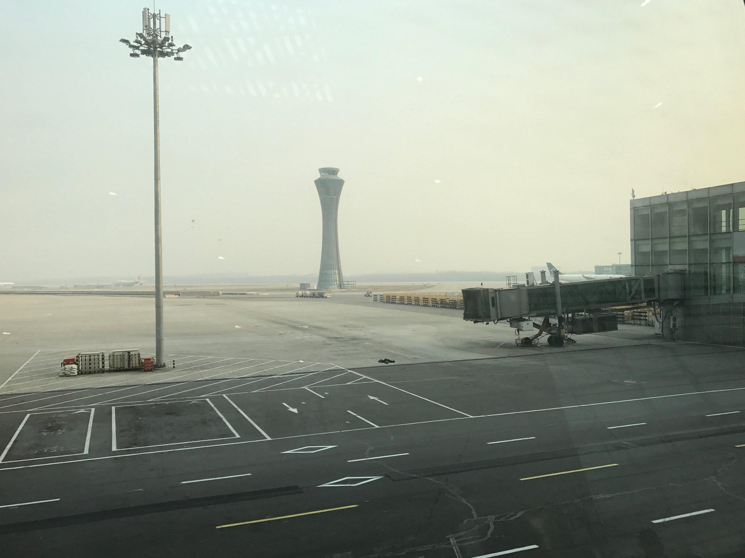 Beijing Airport tarmac
