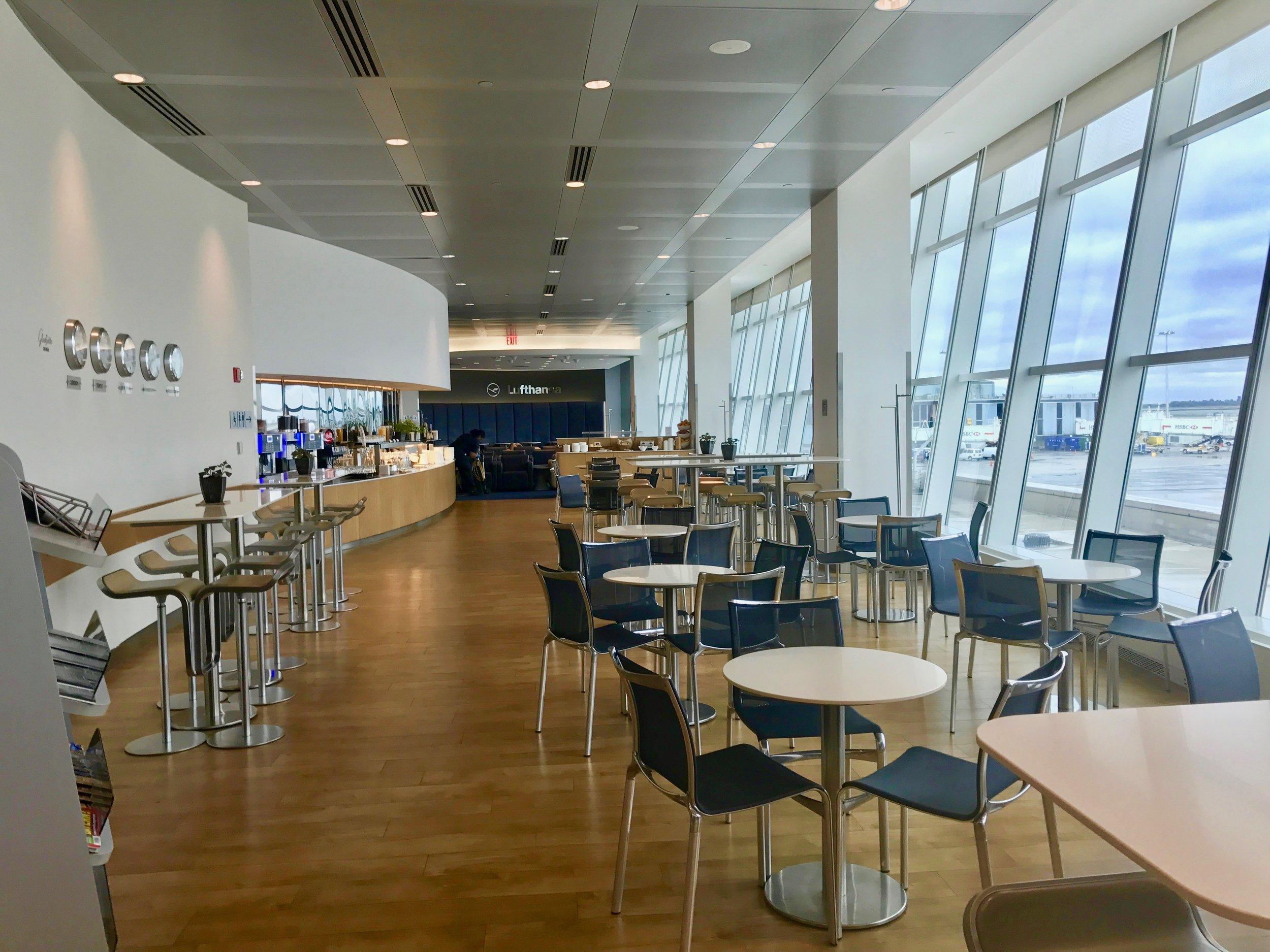 Lufthansa Business Class Lounge JFK Terminal 1