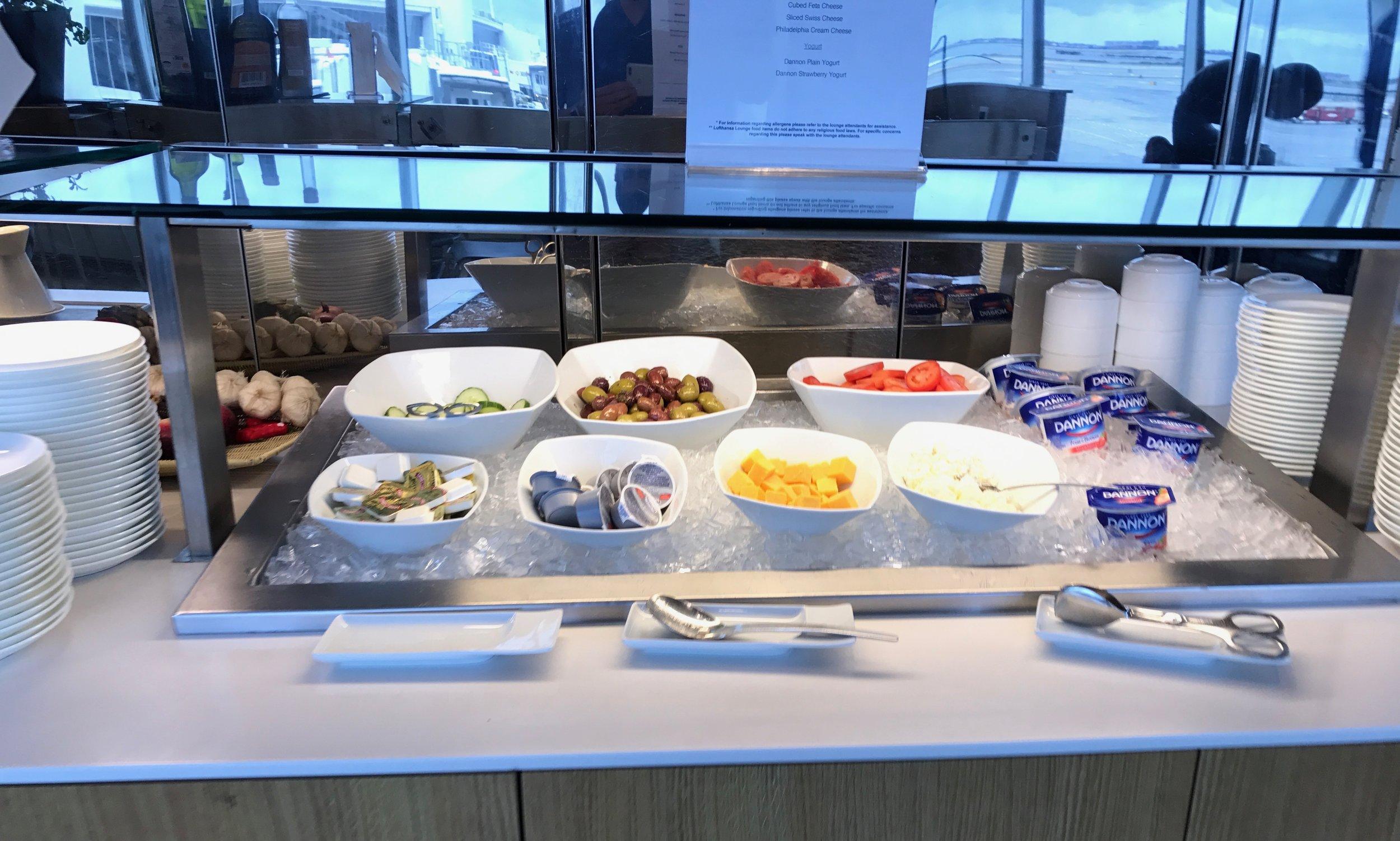 Buffet breakfast - cold items