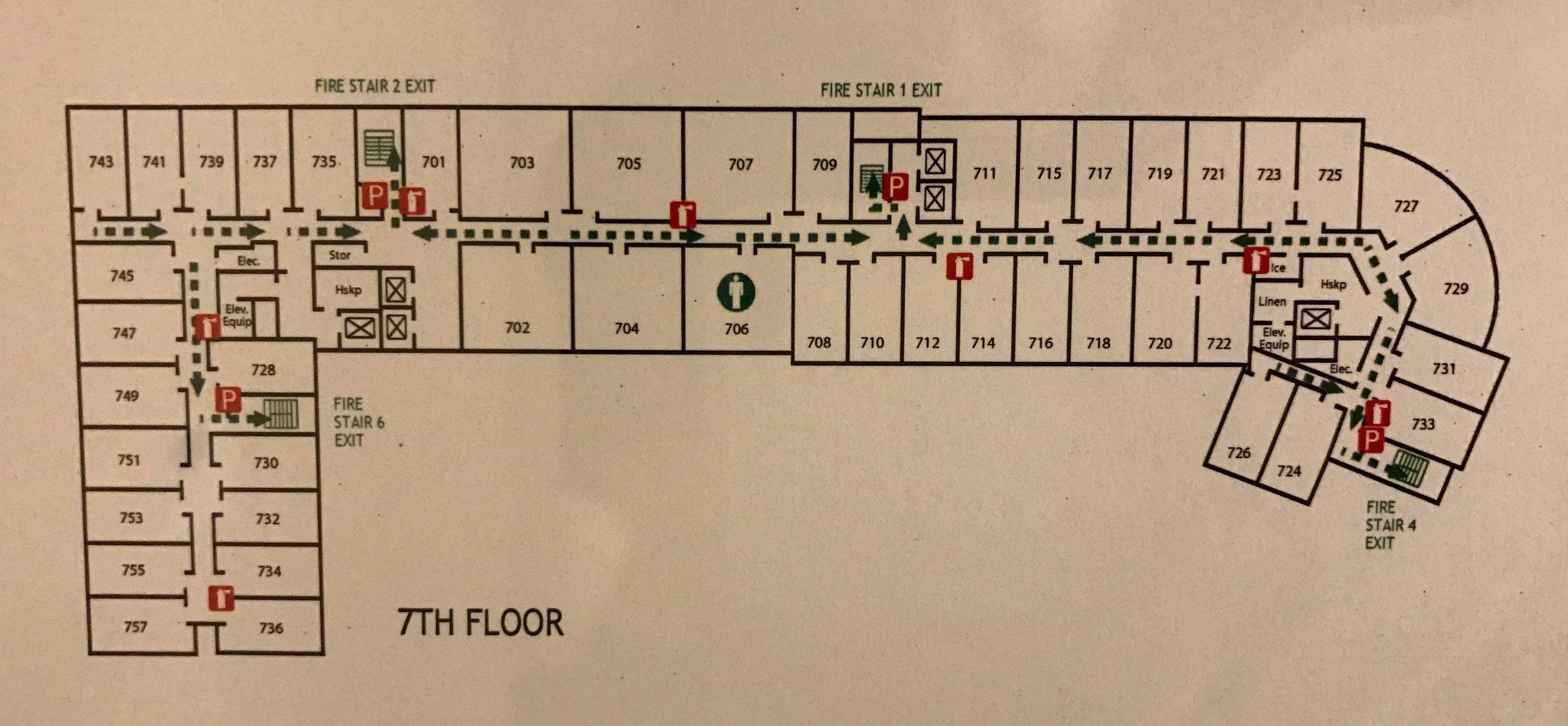 Four Points Seattle Airport Floorplan