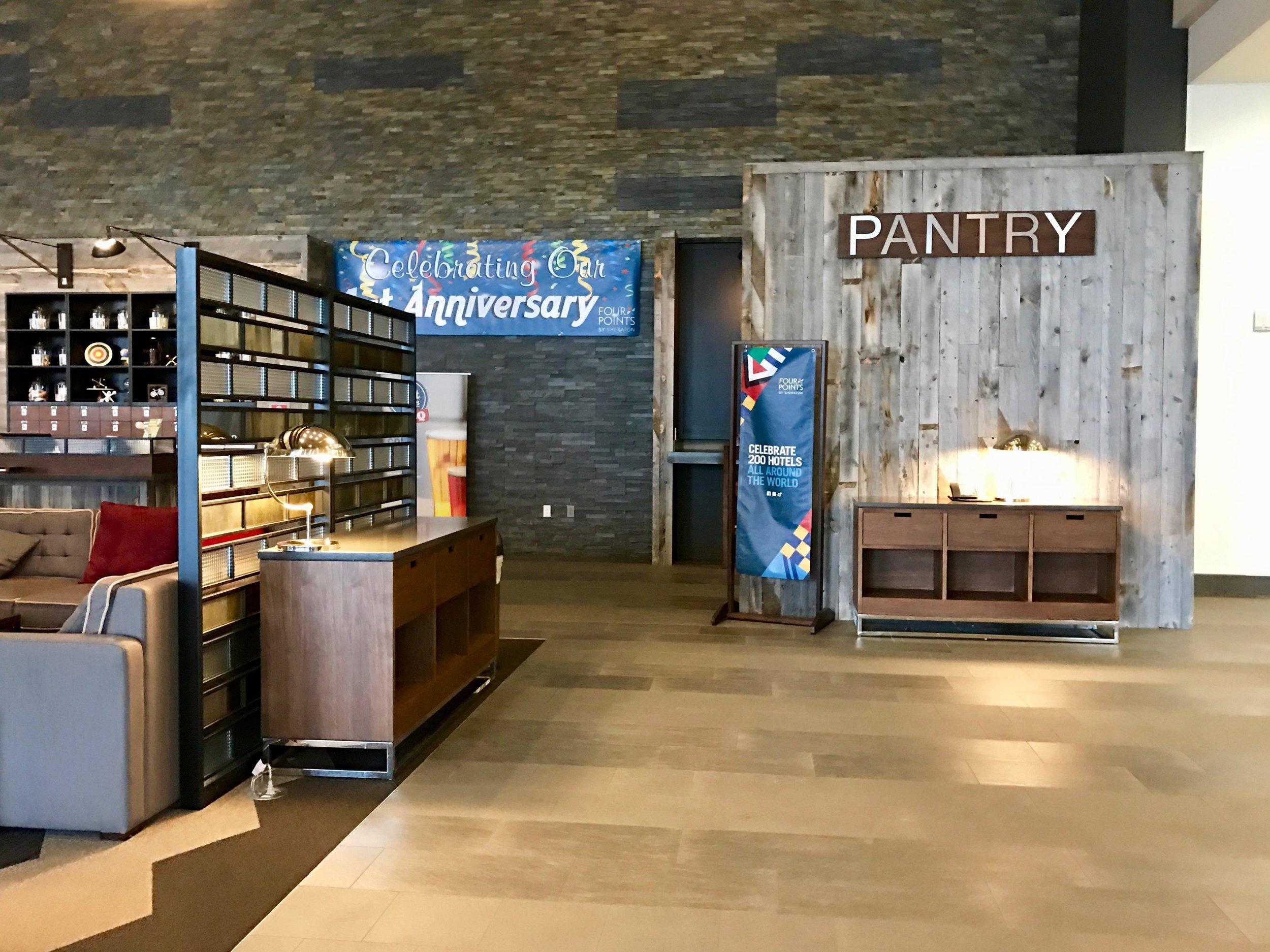Lobby Snack Pantry