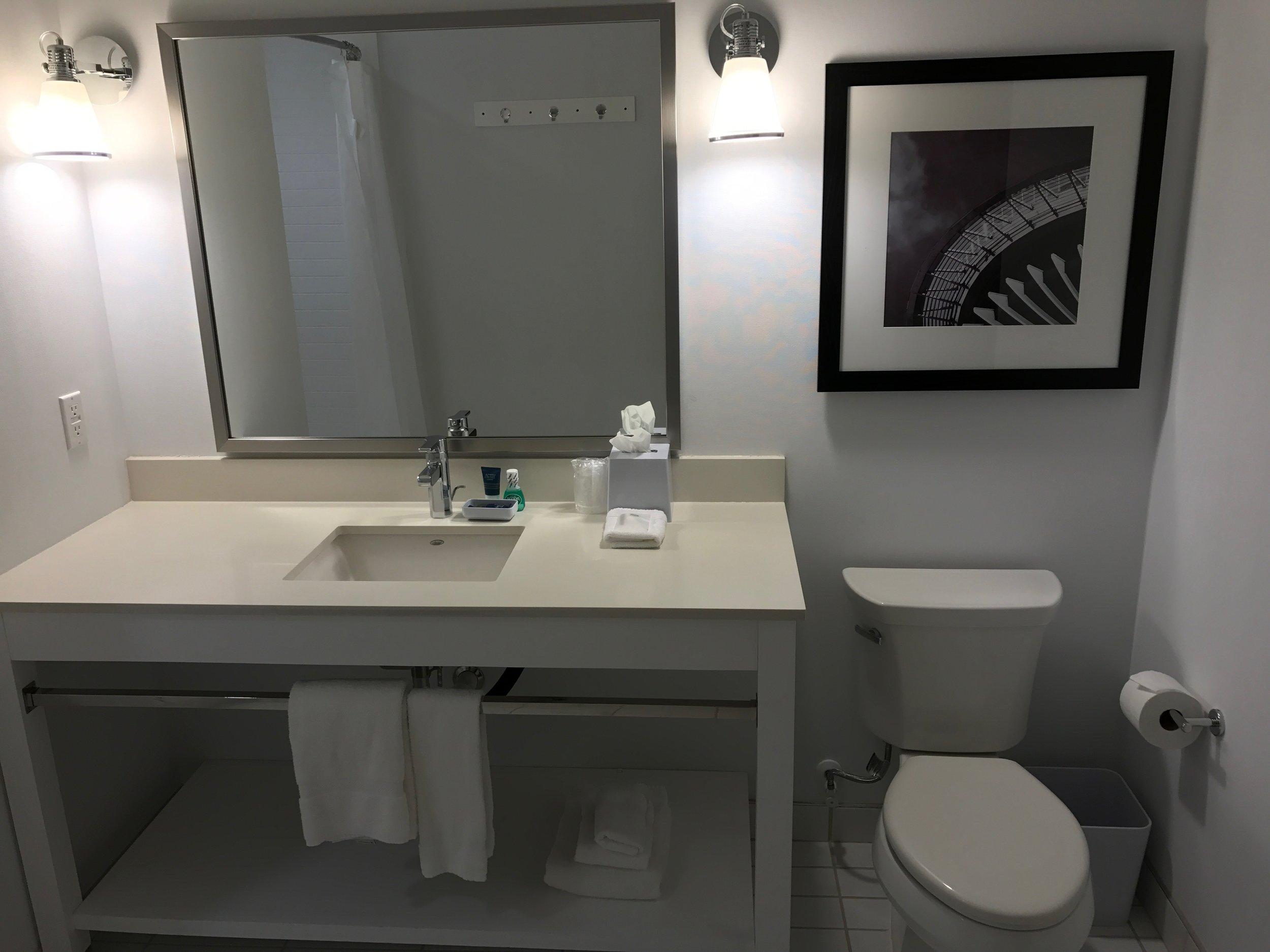 Loft Suite Upstairs Master Bathroom