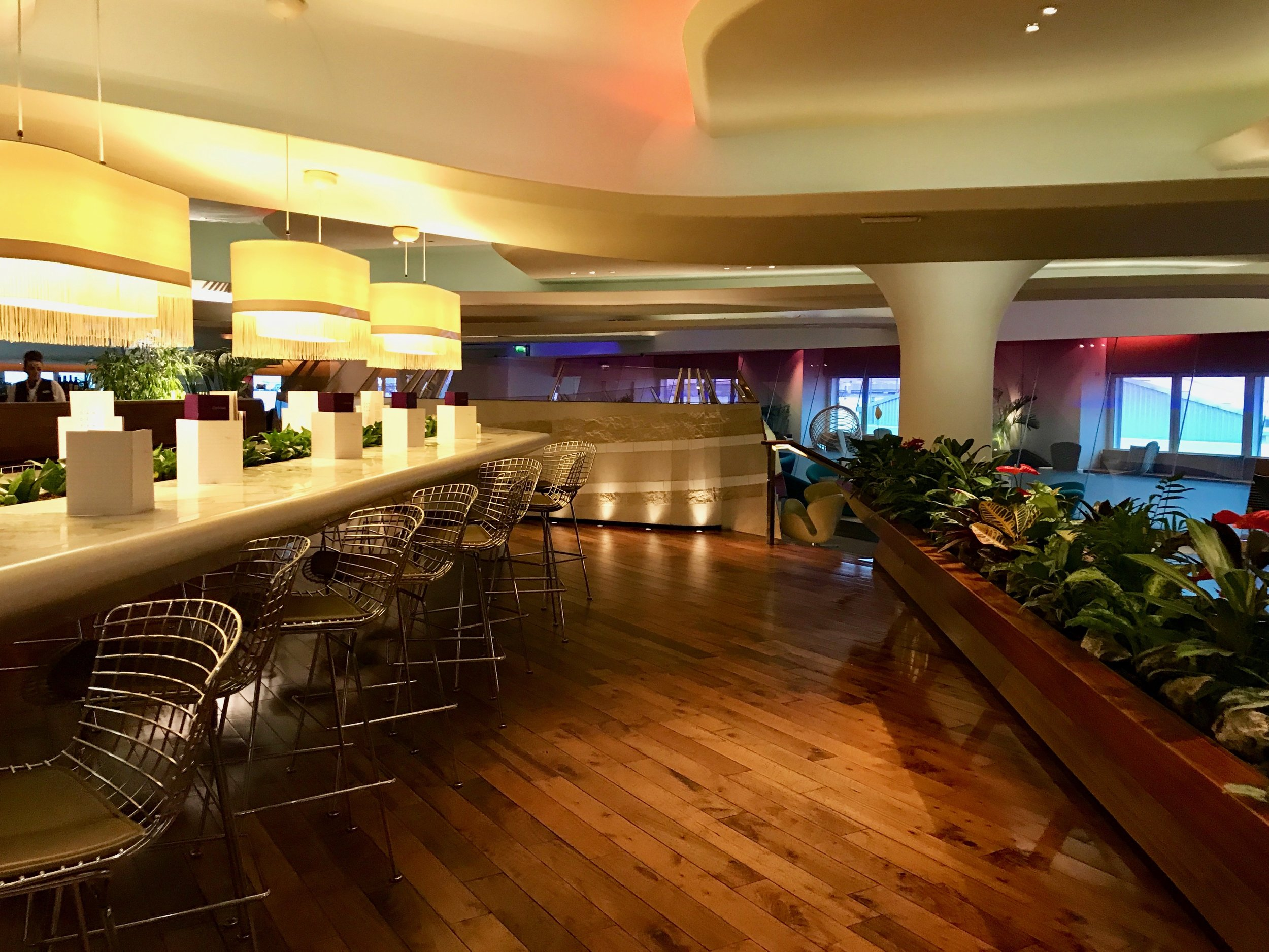 Virgin Atlantic Clubhouse Lounge London Heathrow LHR Airport - 4.jpg