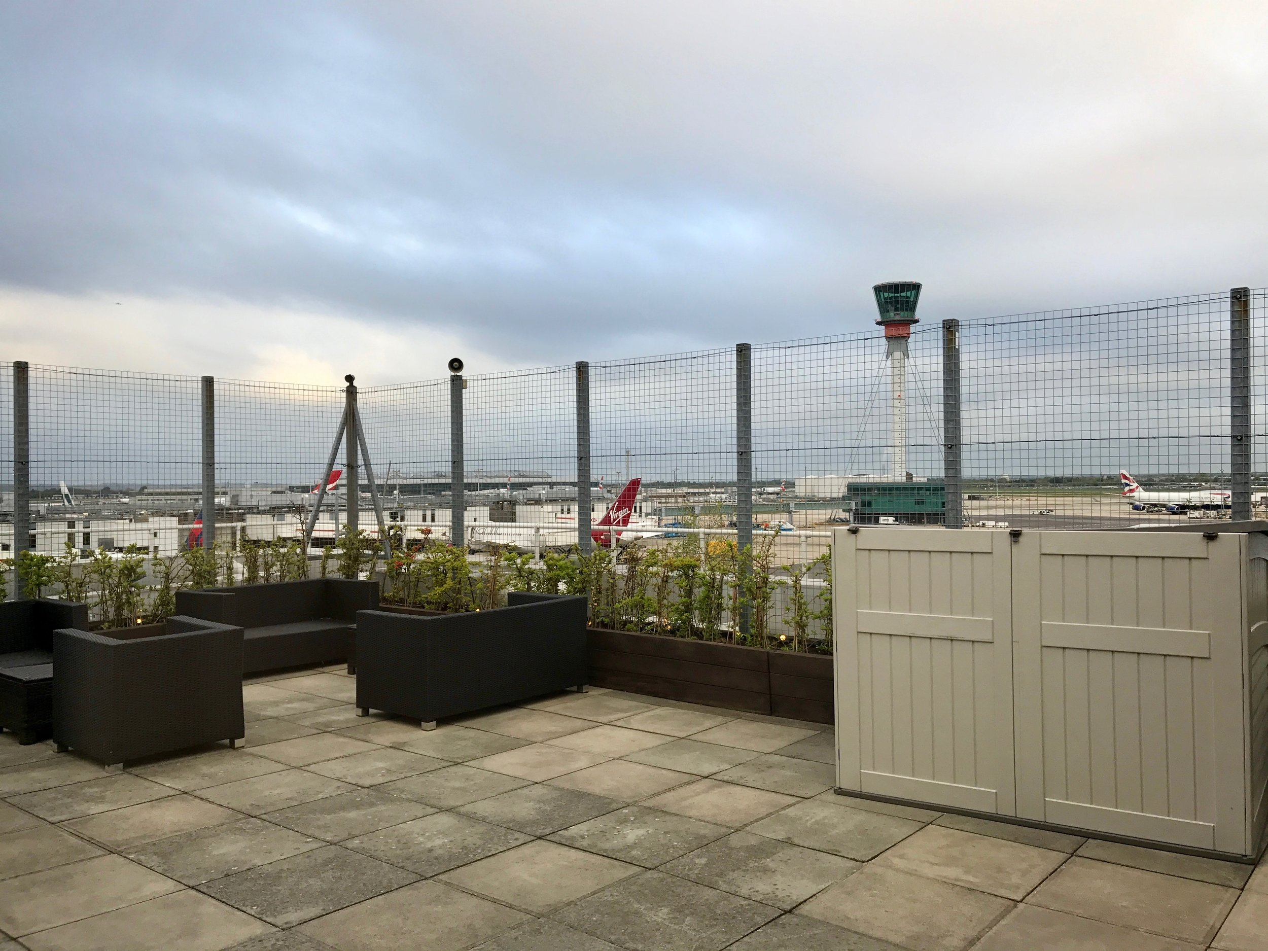 Clubhouse Viewing Deck