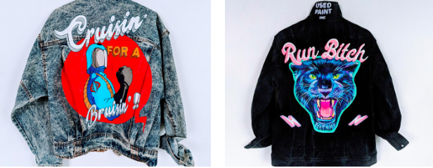 ae953b38d9 Trend Highlight: Painted Jean Jackets — STITCH