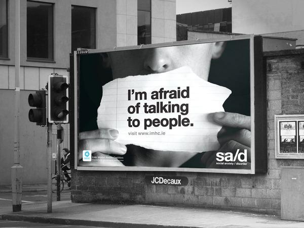 social anxiety advertising