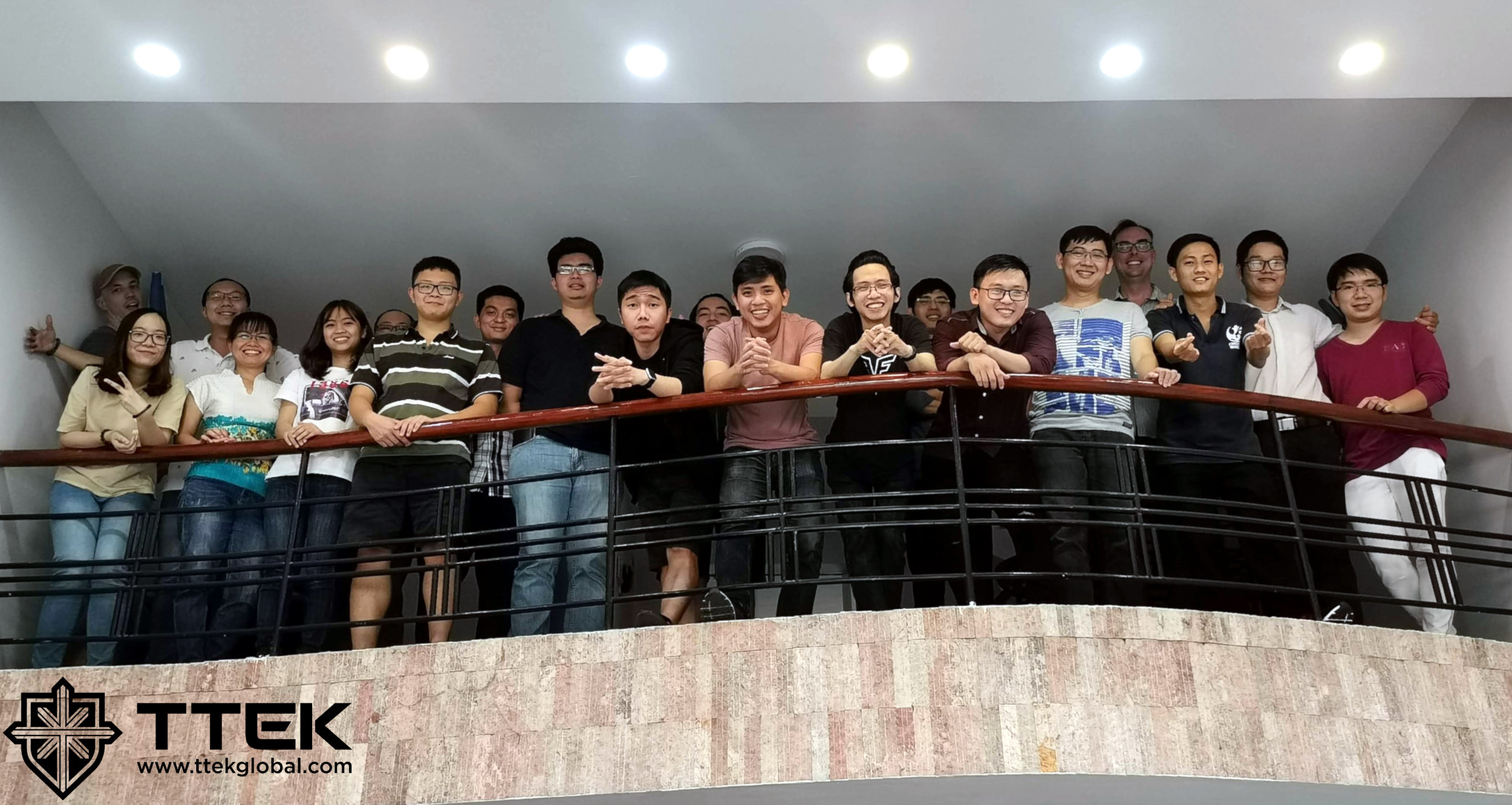 Our talented development team based in Ho Chi Minh City, Vietnam!