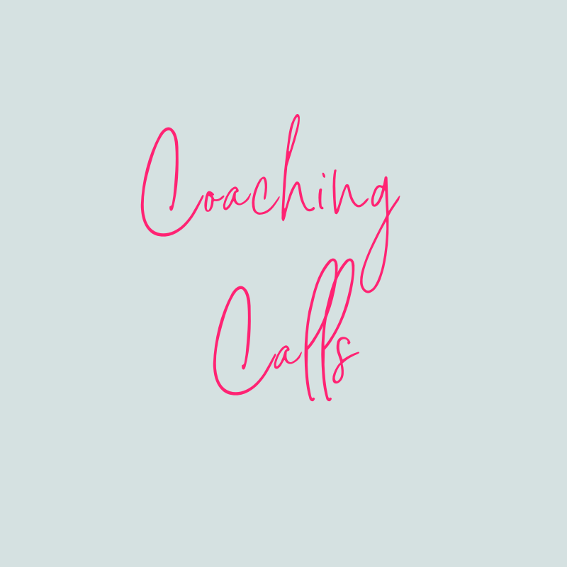 - This is where it gets personal. You'll be invited to four live CALM coaching calls where you can ask questions and receive our full, undivided attention and support for accountability, implementation and transformation.