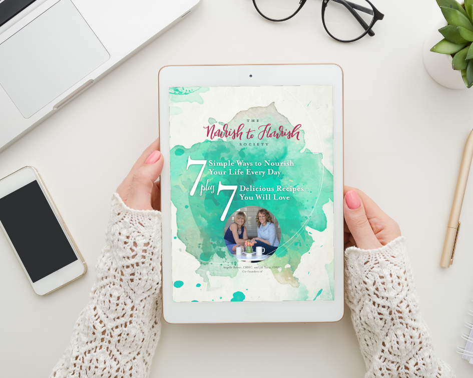 Grab your *free* digital copy: 7 Ways to Nourish Your Life Everyday + 7 Recipes You'll Love - In this easy-to-read [or listen to] guide you'll learn our 7 steps for nourishing yourself that will have you looking at self-care in a whole new way. Plus you'll get 7 delicious recipes that will also keep you fueled for getting through that seemingly never-ending to-do list!