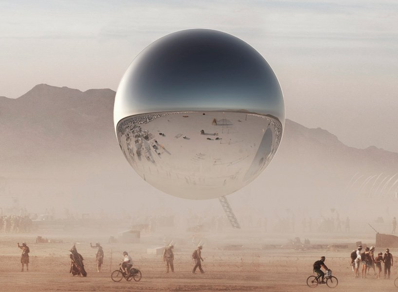 "BIG Architecture ""ORB"" at Burning Man"