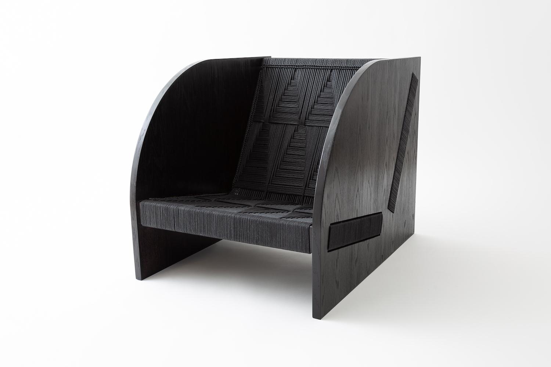 Peg Woodworking 'Freya' lounge chair