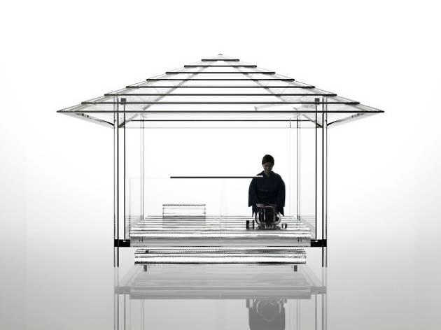 Tokujin Yoshioka Glass Teahouse Kou-an