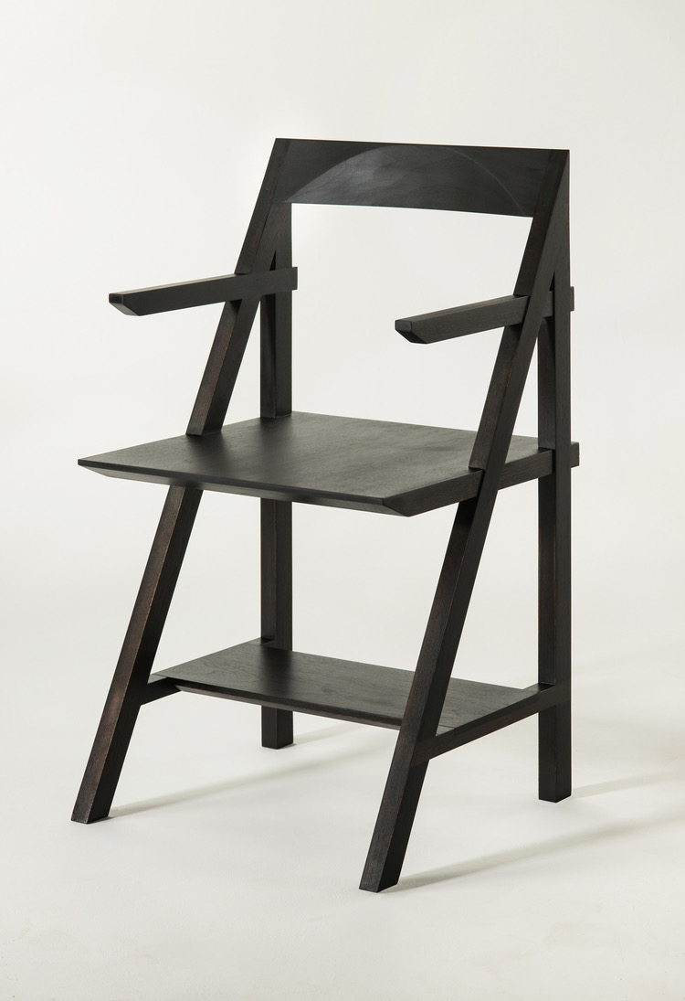 Cantilever Arm Chair Oxidized Black Walnut 20 1:2%22Wx18 1:2%22x35%22H MSpaulding_70e.jpg