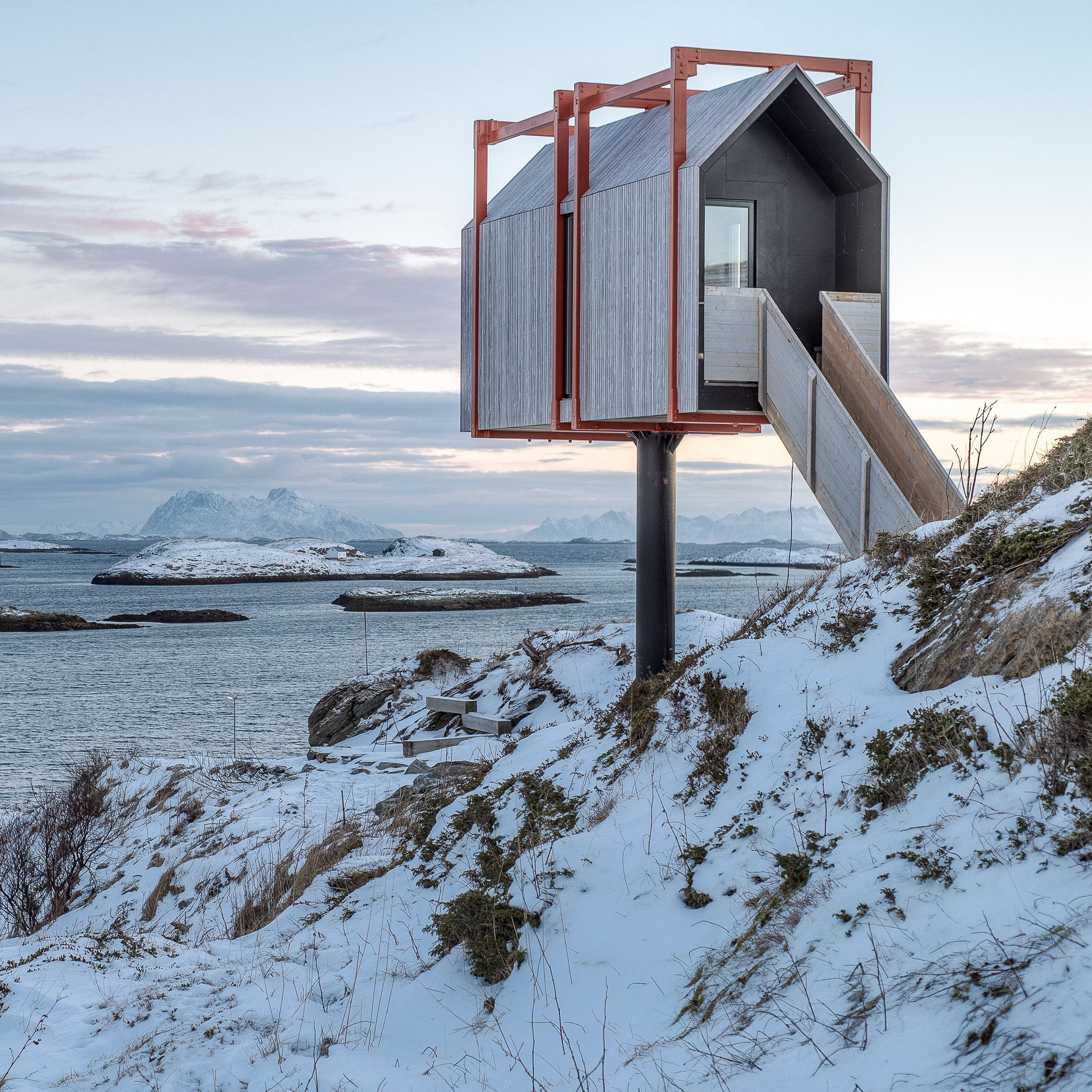 "TYIN Tednestue Architects . Norway.  ""Silence, inspiration and absolute, honest encounters with nature."""