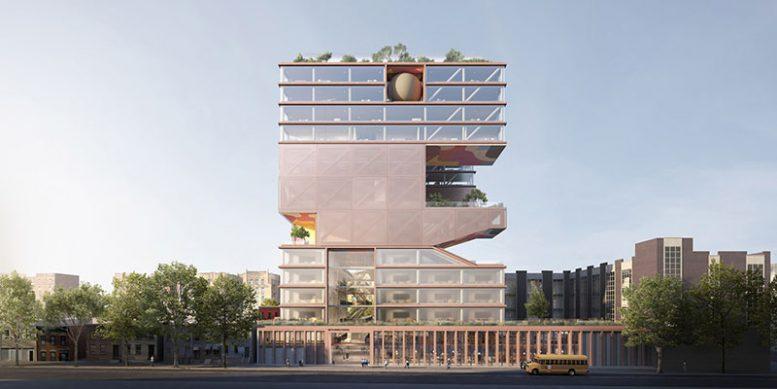 ODA Architects  Beth Rivka School
