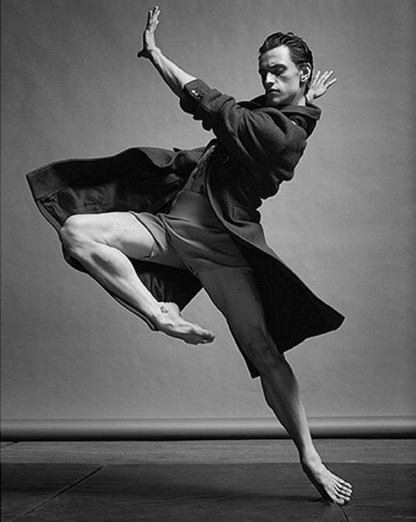 Ballet dancer Sergei Polunin