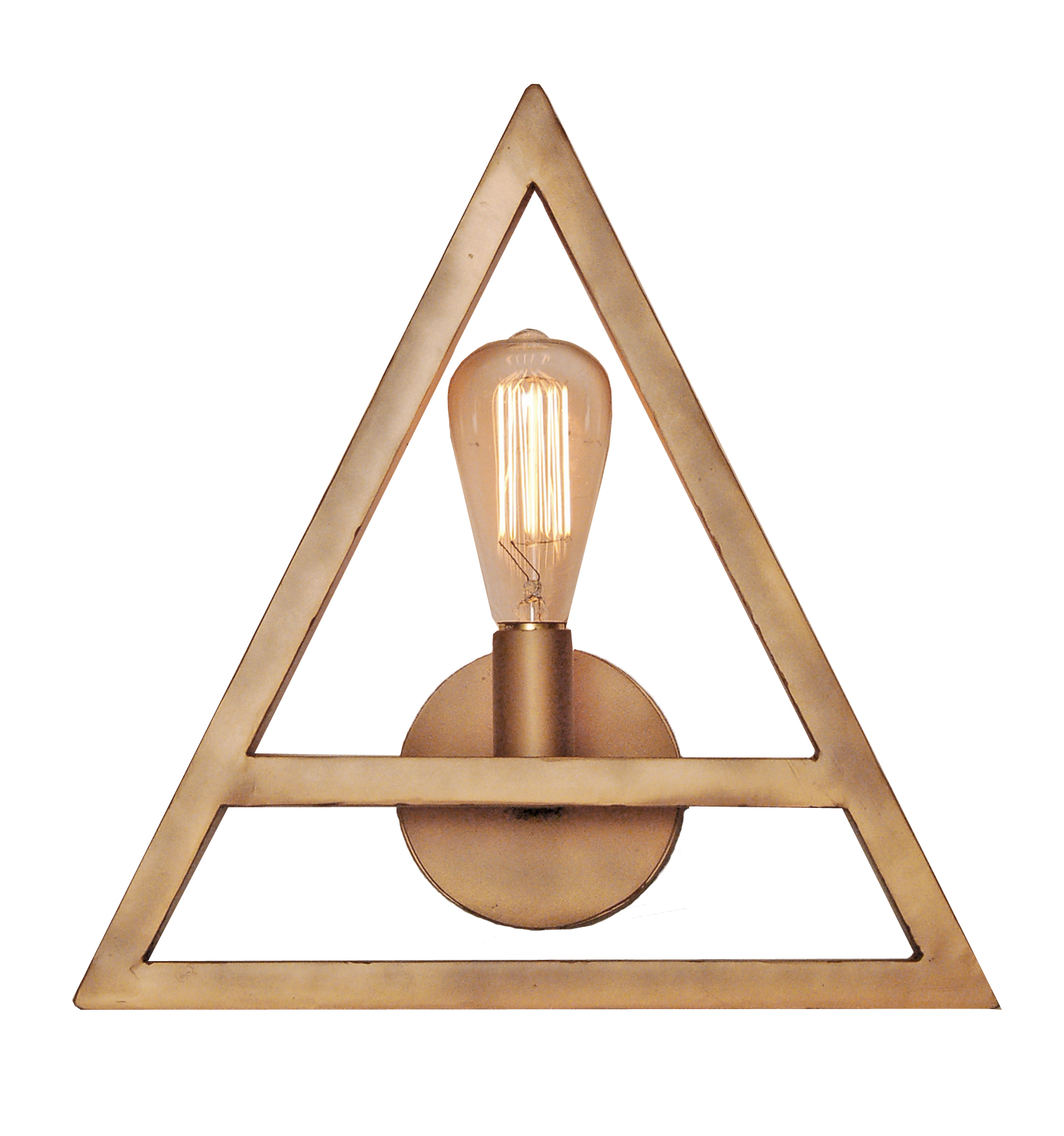 S153 Triangle Sconce- Laura Lee Designs