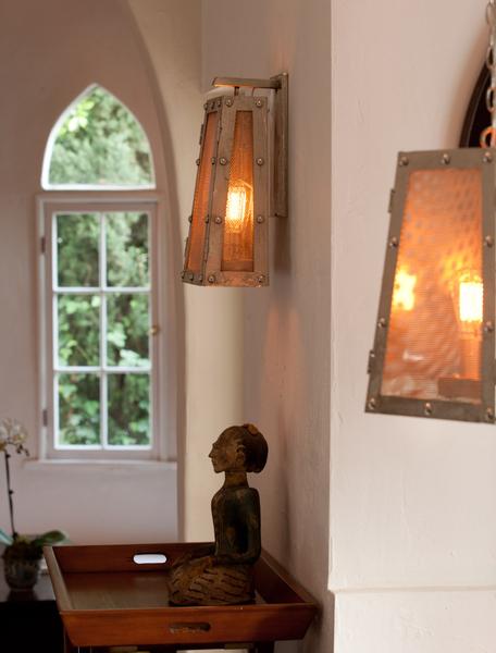 Robertson Lanterns in a custom finish.
