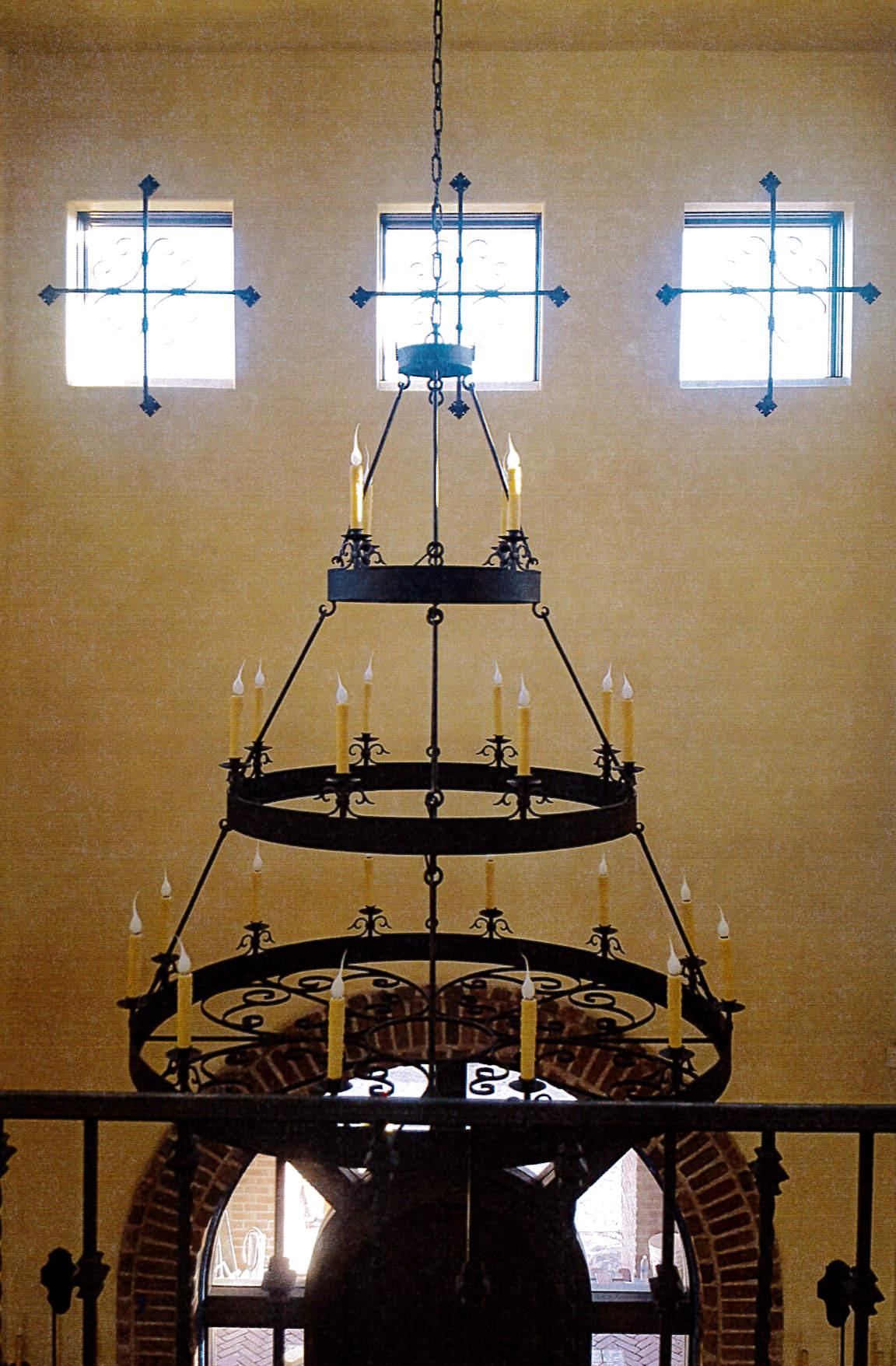 Las Vegas Custom Triple Tier Chandelier.jpg