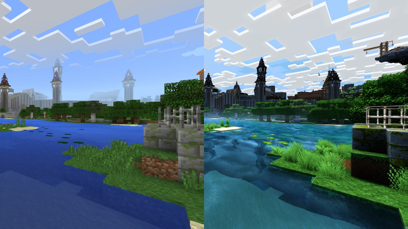 Image showing the difference between graphics with the Super Duper Graphics Pack!