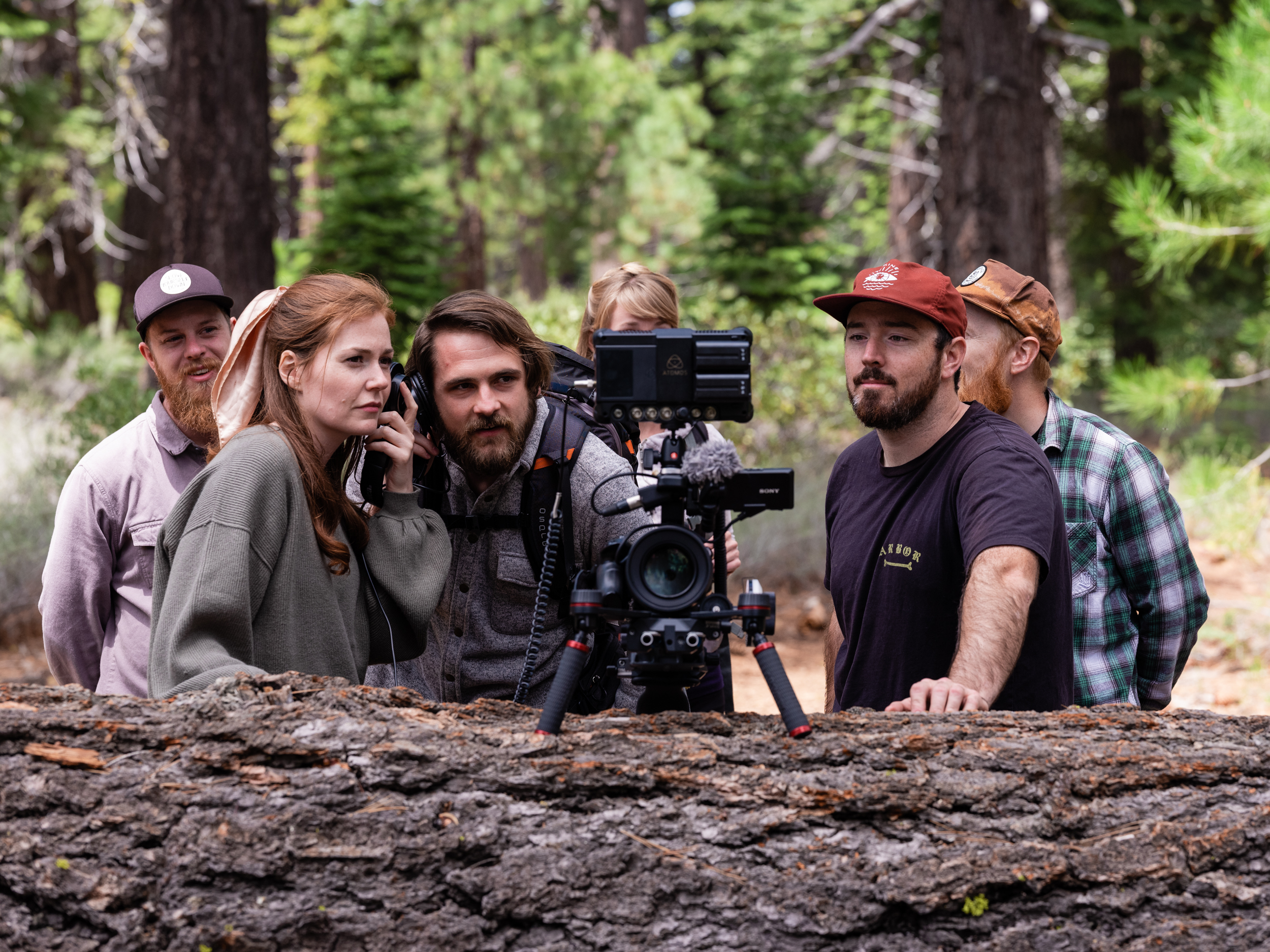 Westfalia_trailhead_BTS_crew watching playback.jpg