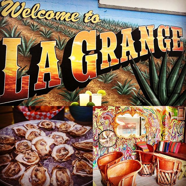 It's Thursday, which means that it's almost Friday, & almost time to kick your feet up to some 🎶, a margarita & oysters @lagrangehouston - - - - - - - - - - - - -  Music starts at 7:30 pm on the outside patio  #lagrangehouston #heapinhelpin #extragravy #extraoysters #mezcal #tequila #margarita #hotburrito #365thingstodoinhouston