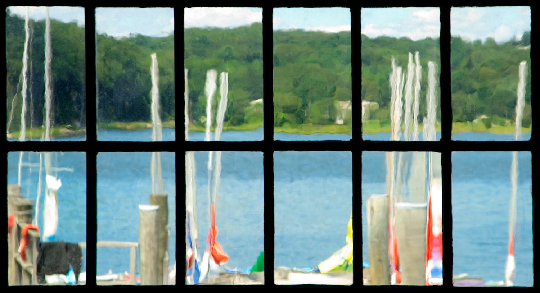 Rope Walk Window Mystic Seaport