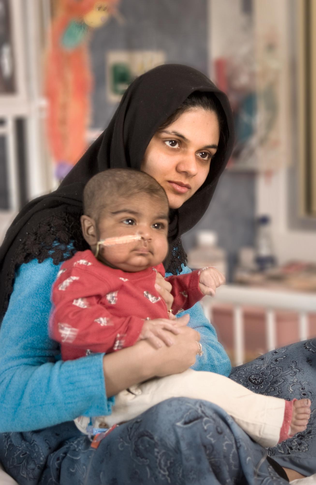 pediatric patient & mother