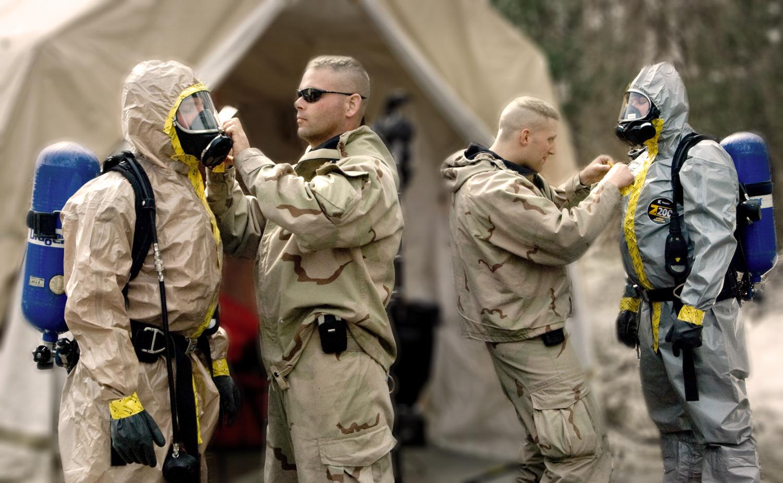 US Army hazmat training