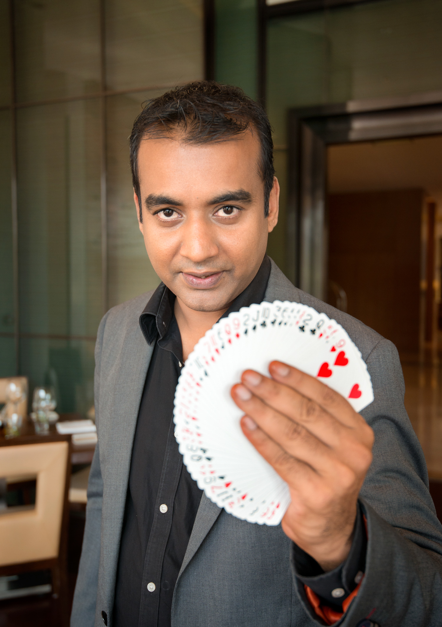 Schneider Electric employee Sanjay at play Bangalore, India