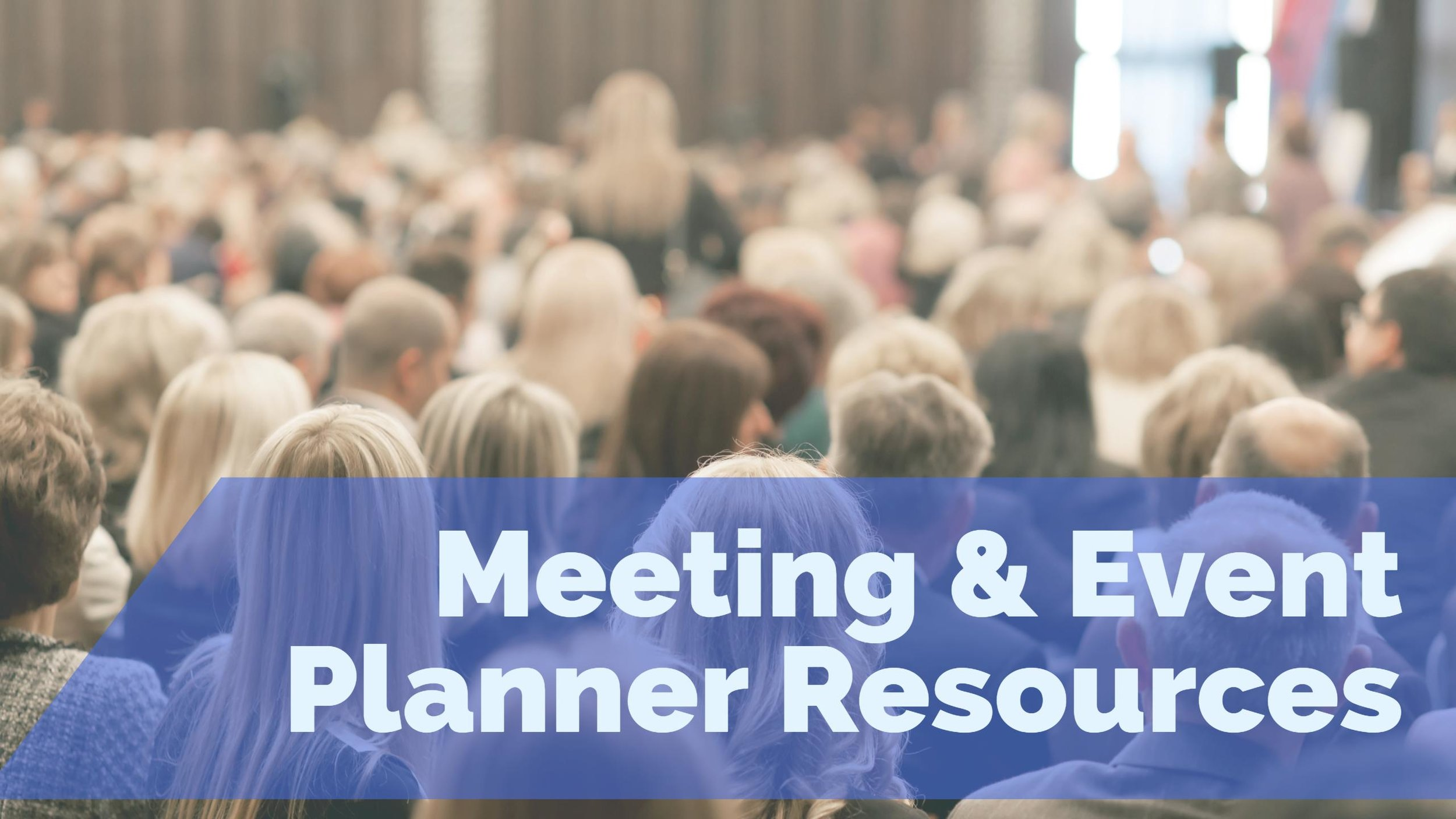 Meeting & Event Planner Resources