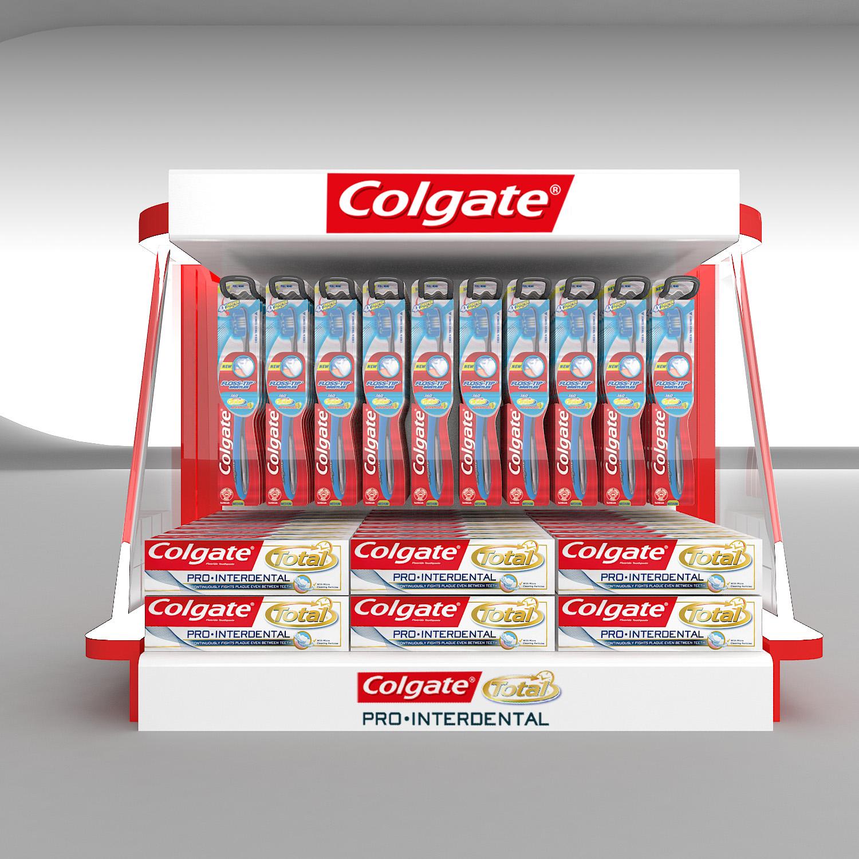 Colgate Shelf Display