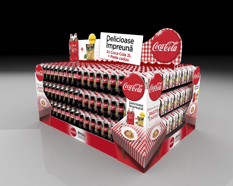 Coca Cola In-Store isle