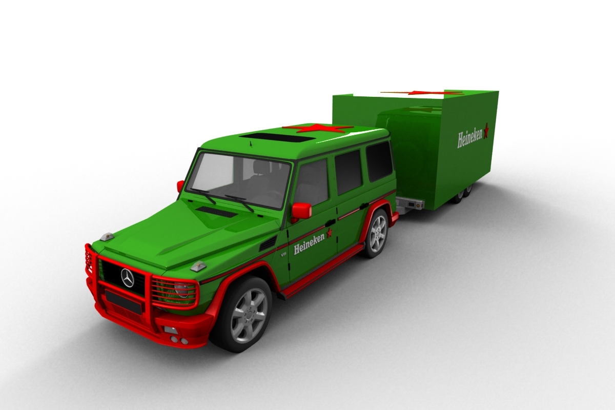 Heineken Mobile bar