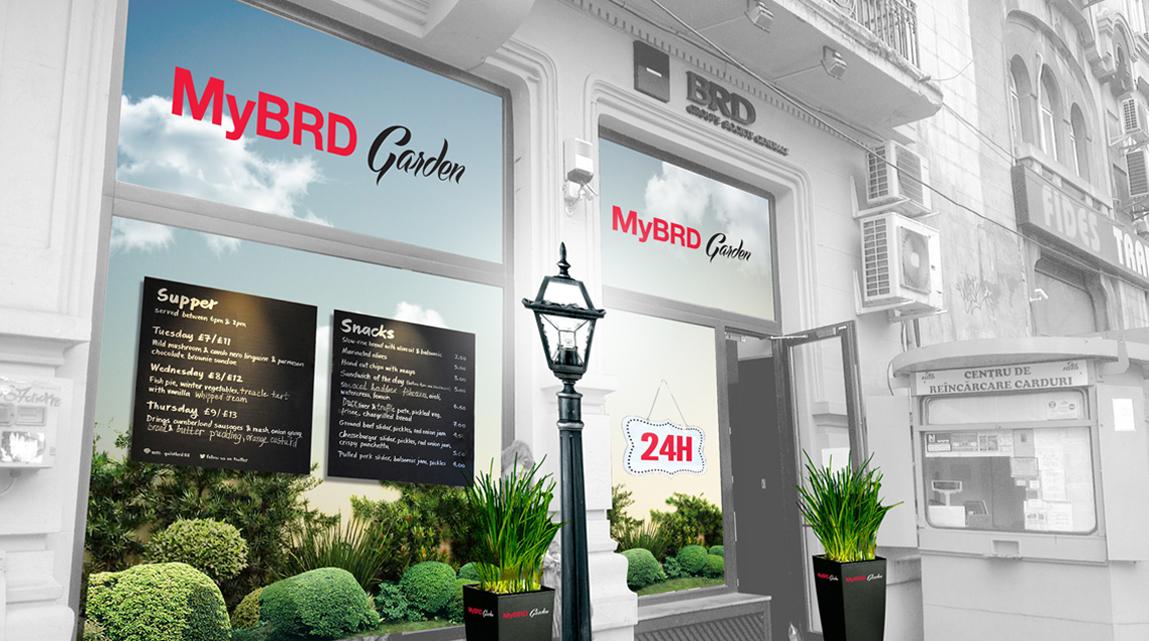 BRD 24H Banking Concept