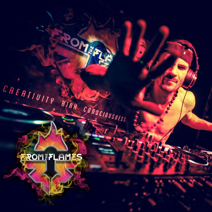 Rockit Riyad DJ'ing at FTF