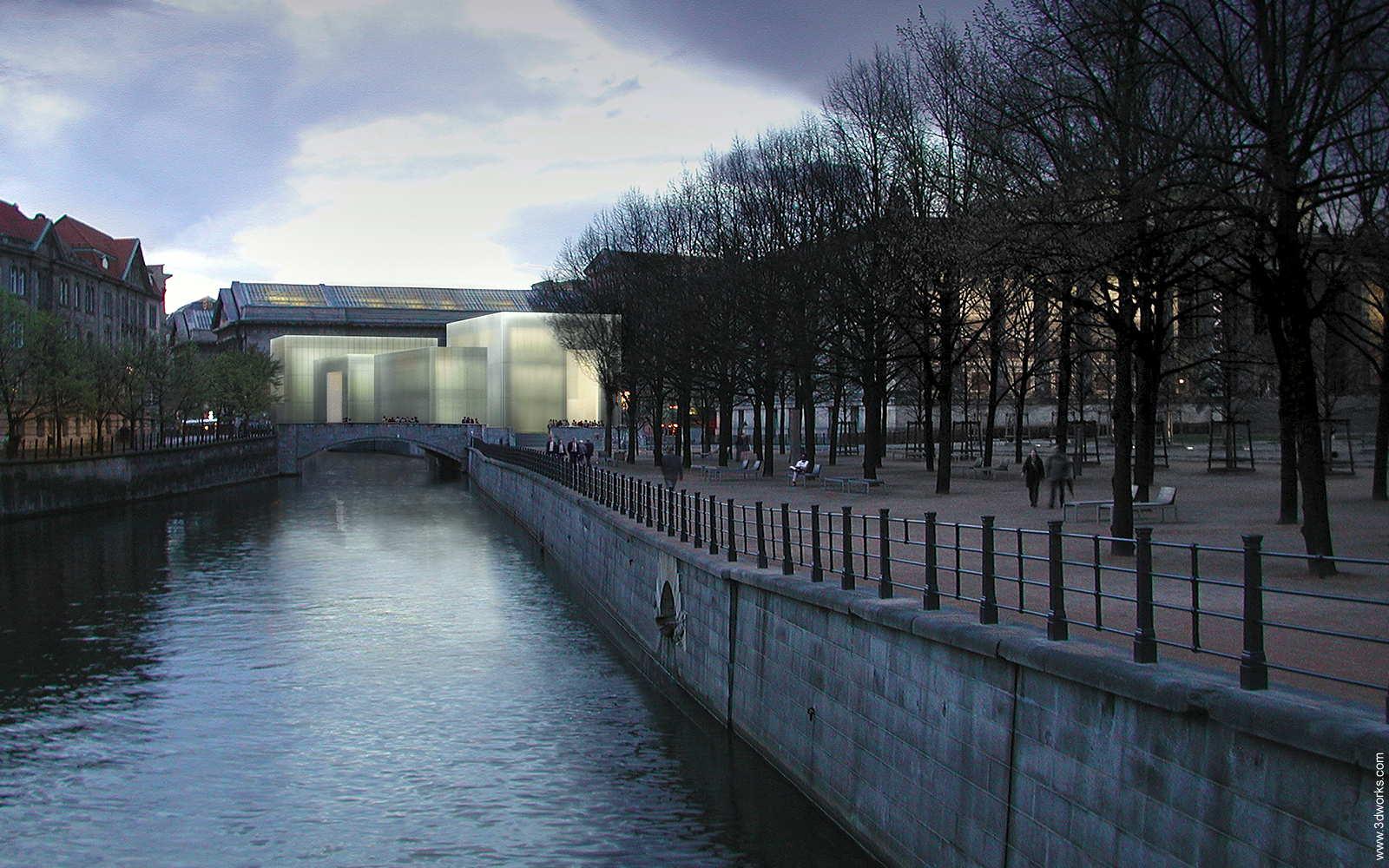 Neues Eingangsgebäude Museumsinsel, Berlin - David Chipperfield