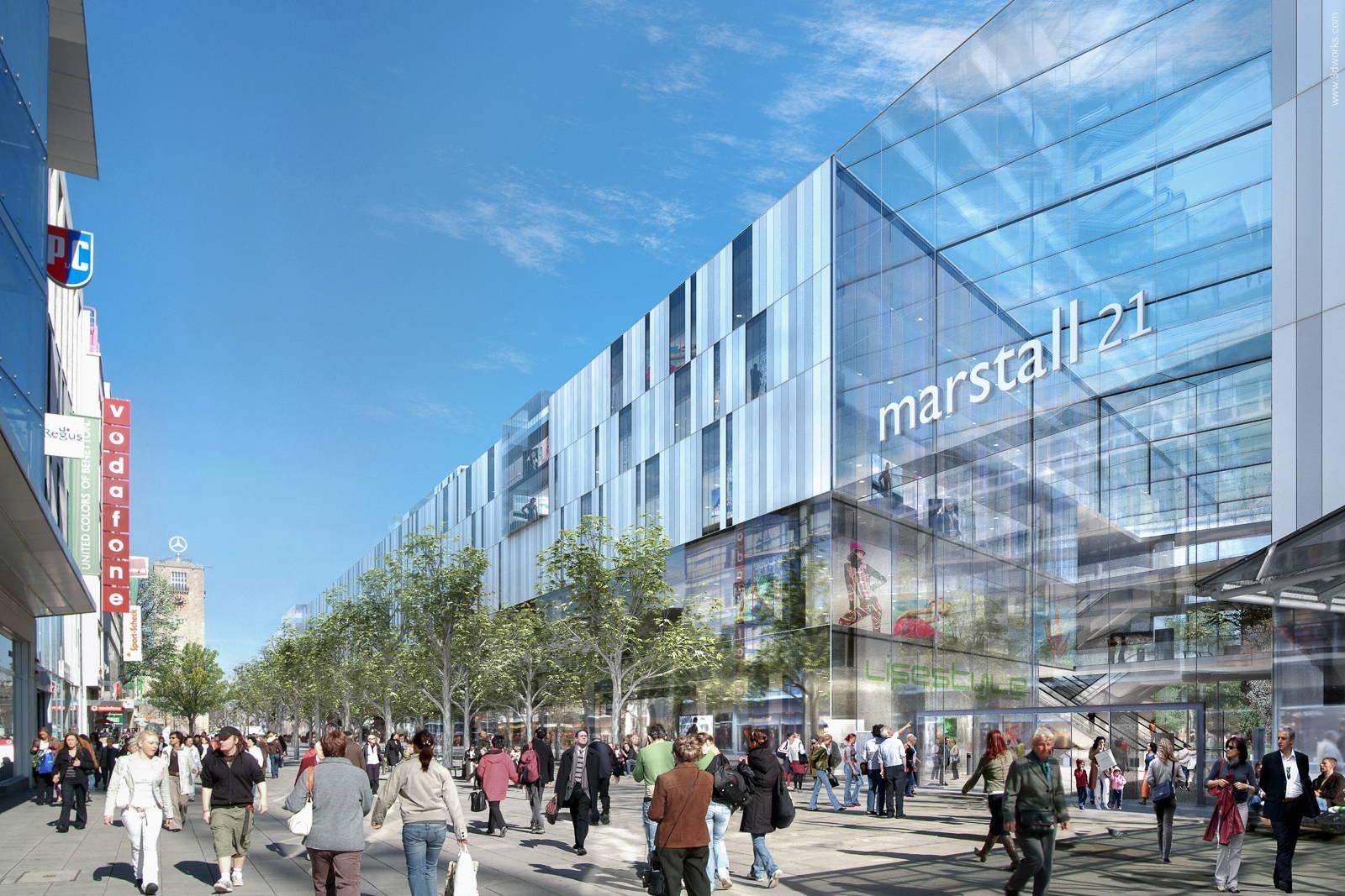 Architekturvisualisierung, Marstall 21, Stuttgart - Kunde: Michelgroup