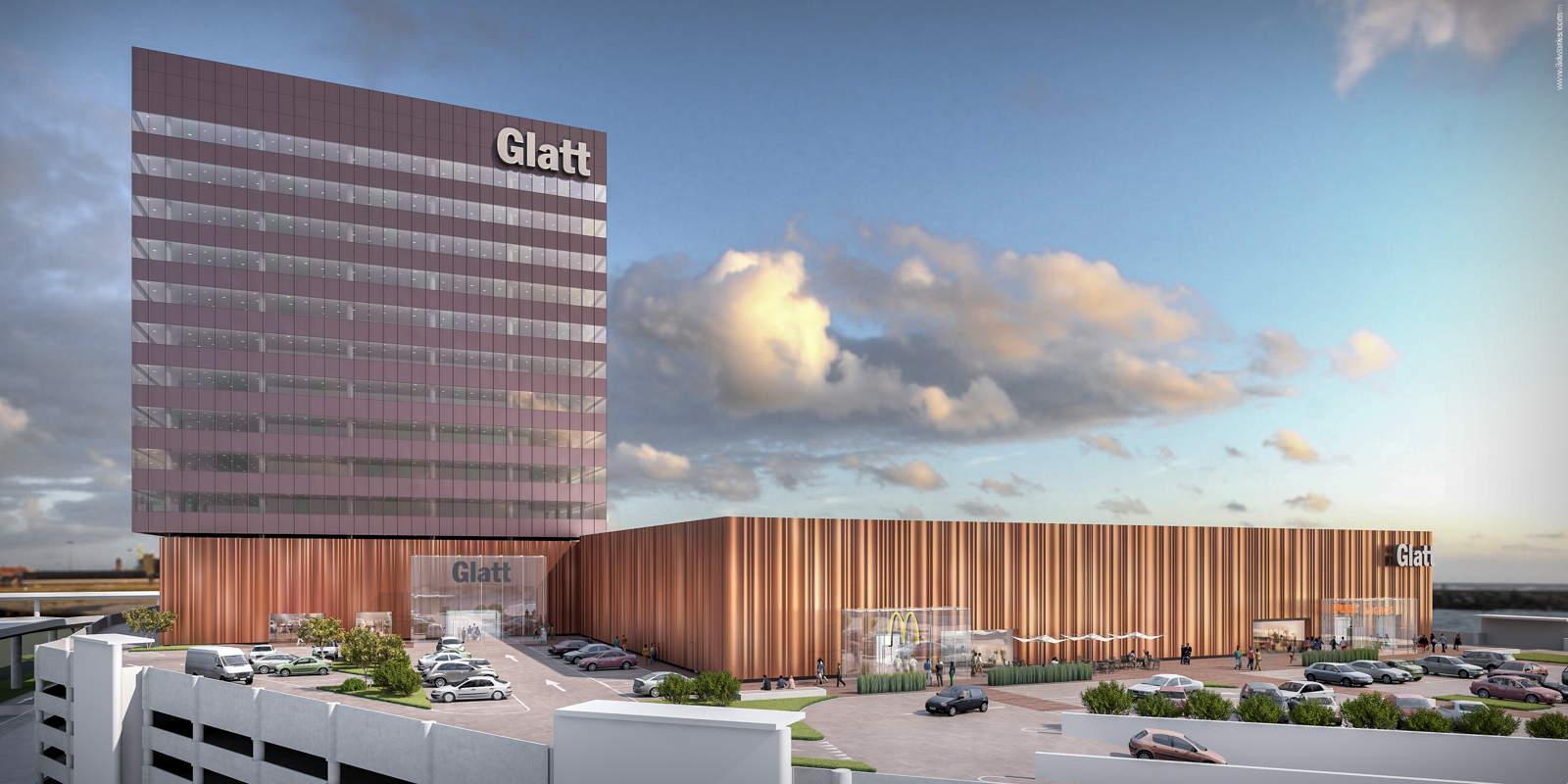 Visualisierung Glatt Einkaufszentrum, Schweiz - Michelgroup