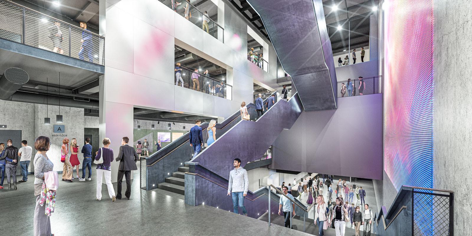 Verti Music Hall, Berlin - Aukett Heese Architekten / Anschutz Entertainment Group