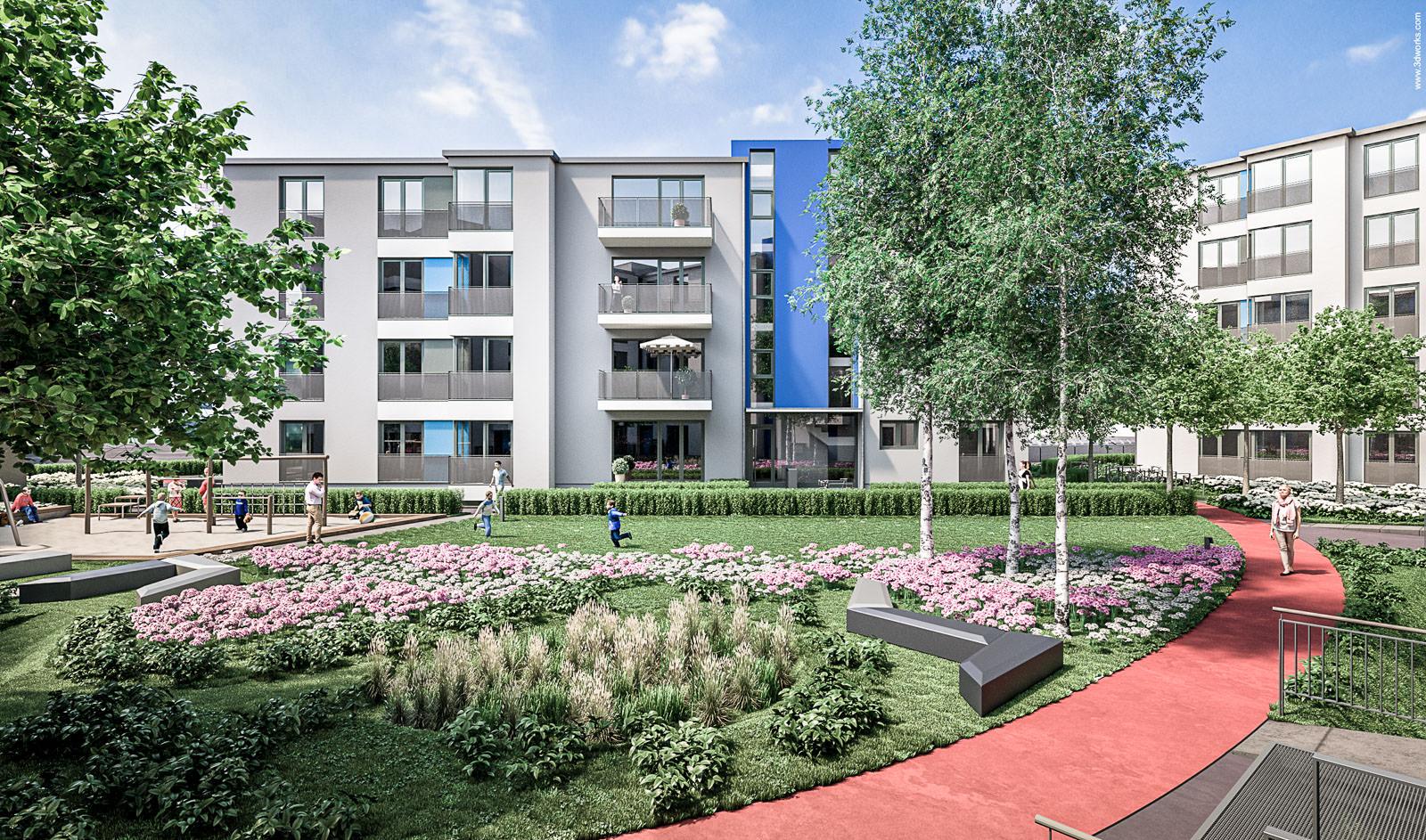 Wohnungsbauvorhaben in Berlin - HCW Architekten Ingenieure