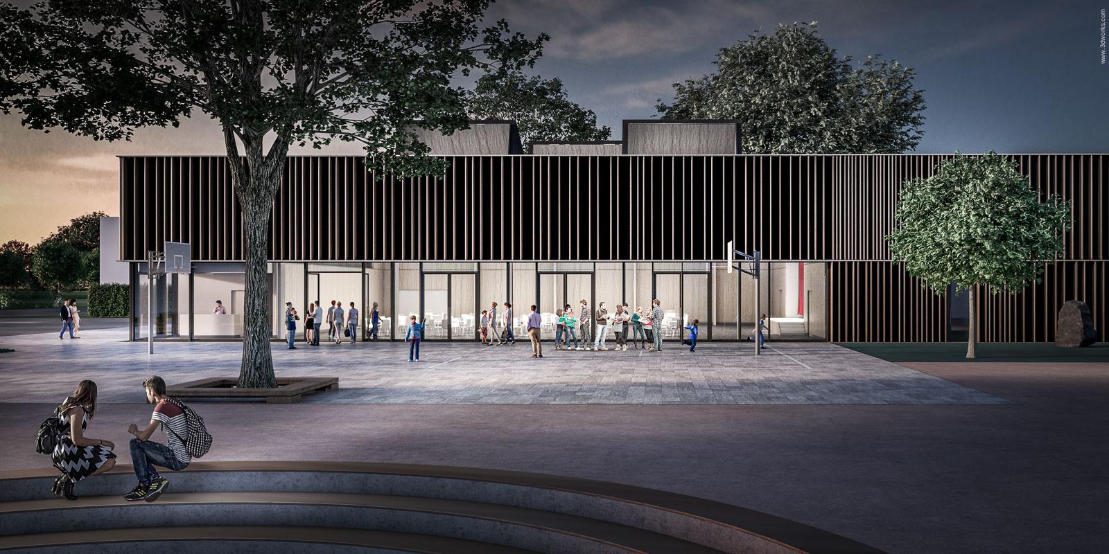 Mehrzweckhalle - Labs von Helmolt Architekten und Ingenieure