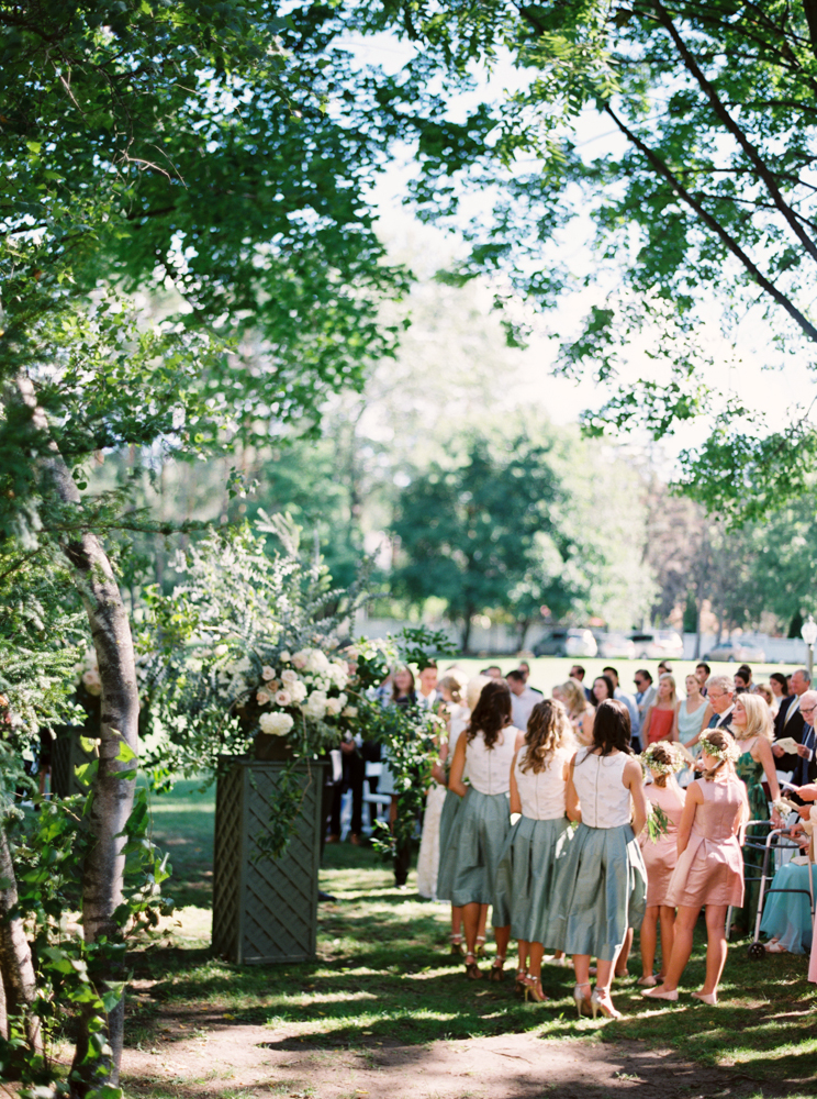 Wide ceremony shot
