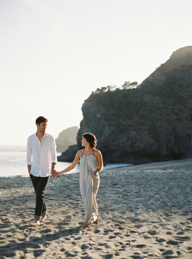 Seaside Engagement | Jessica Rose Photography | Photographed at the Erich McVey Workshop 2015