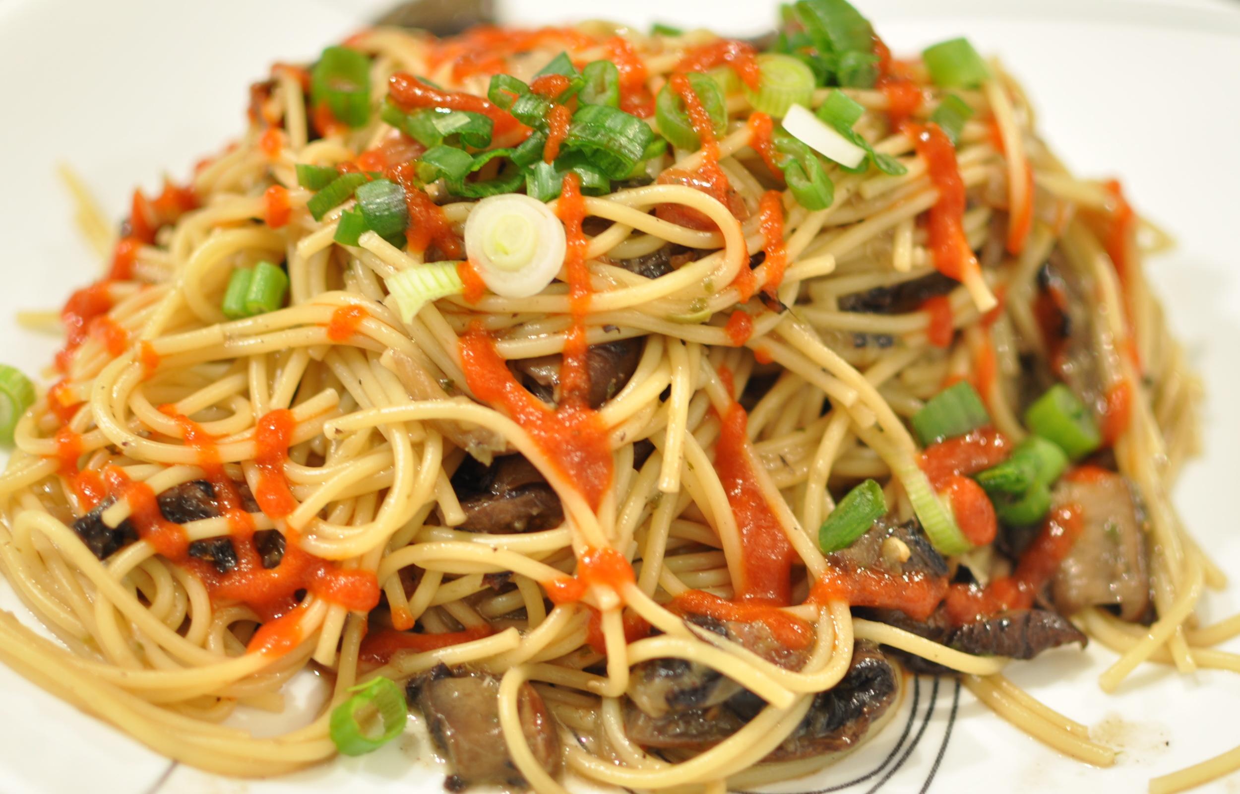 portabella mushroom pasta