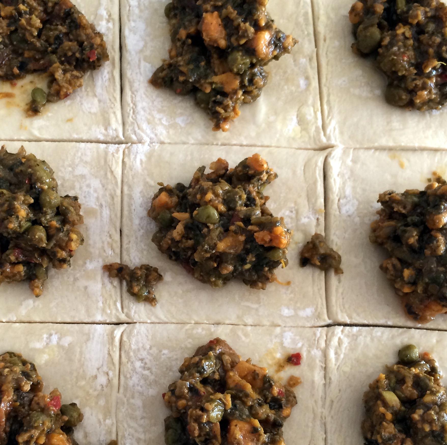 vegetable puffs