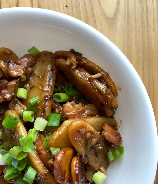 spicy stir fried rice cakes