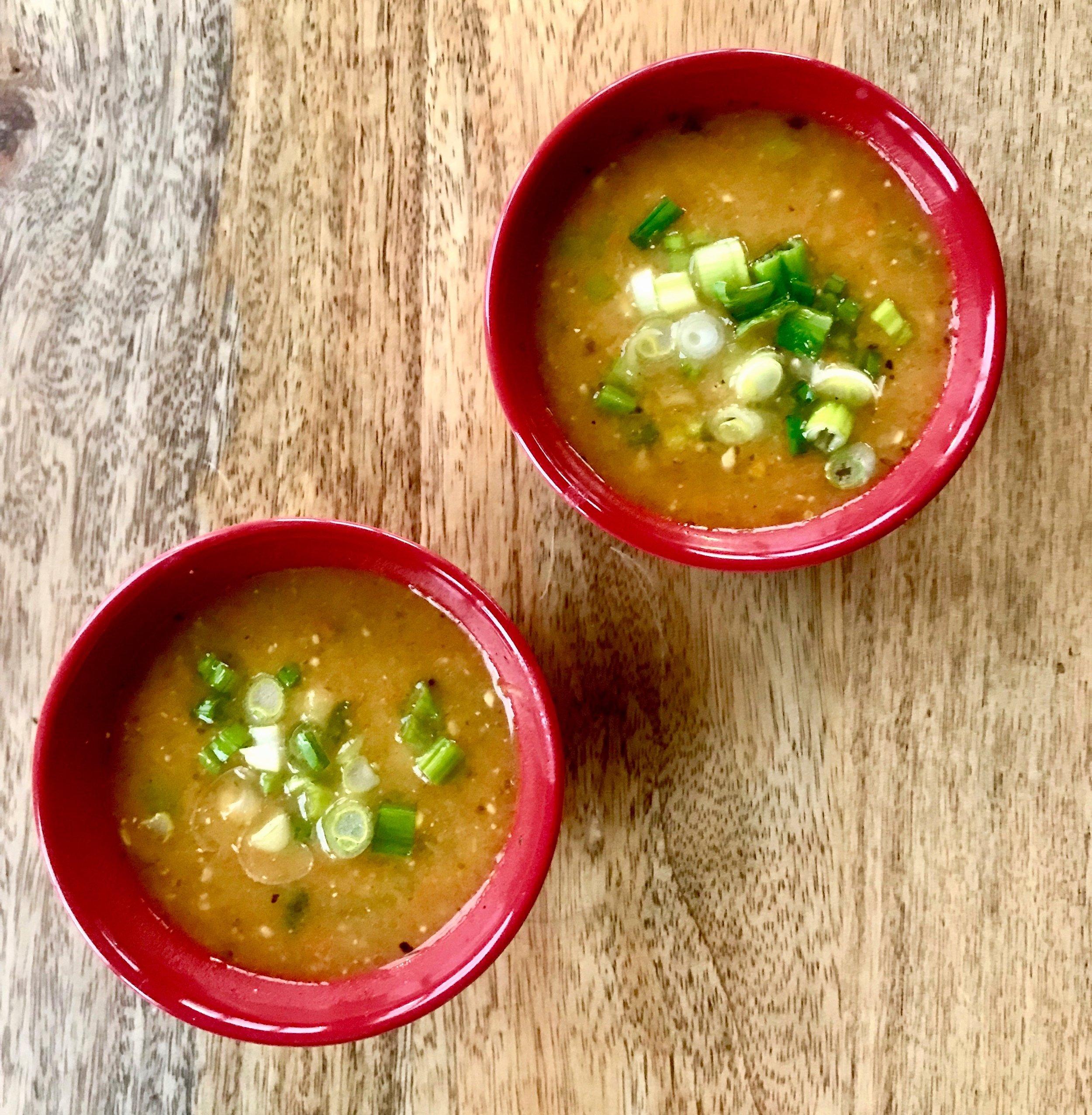 pesto potato soup